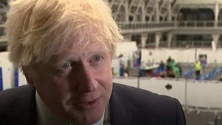 Boris Johnson monitoring data hotspots of Indian variant