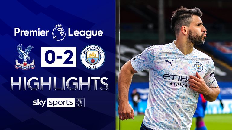 FREE TO WATCH: Highlights from Manchester City's win against Crystal Palace in the Premier League.