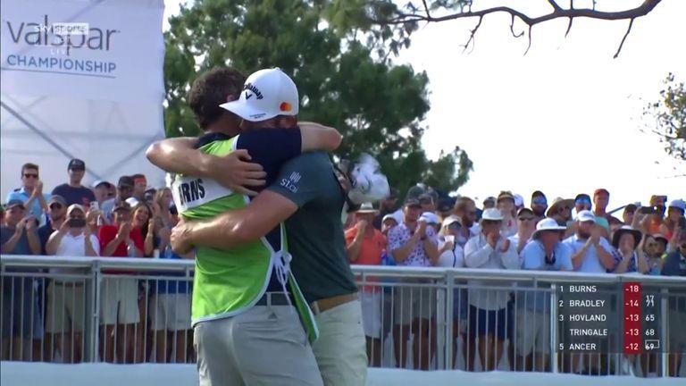 Valspar Championship: Sam Burns Retains Keegan Bradley to Secure First PGA Tour Win |  Golf news