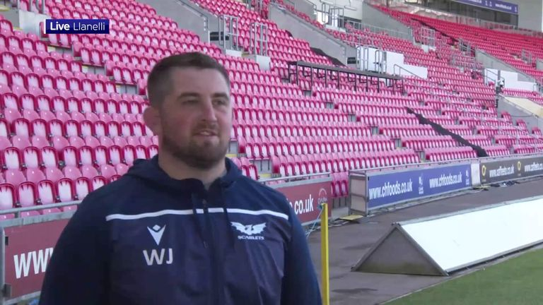 Wales prop Wyn Jones says it was nerve-wracking waiting to find out if he had been picked in the British and Irish Lions squad