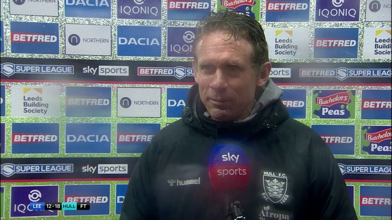 Brett Hodgson was left feeling proud of his players following their win over Leeds in rough conditions at Headingley