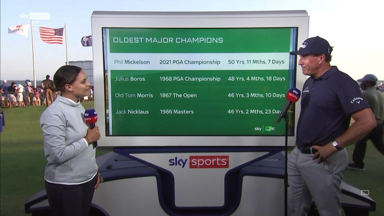 PGA Championship: Phil Mickelson's Grand Slam and Ryder ...