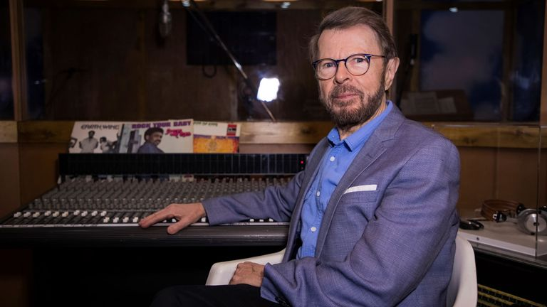 ABBA's Bjorn Ulvaeus pictured in 2017. Pic: AP
