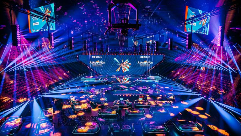 The Ahoy Arena in Rotterdam is ready to host this year's contest. Pic: EBU/Avatros Nathank Reinds