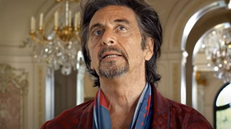 Al Pacino in a Sky broadband advert. Pic: Sky/YouTube