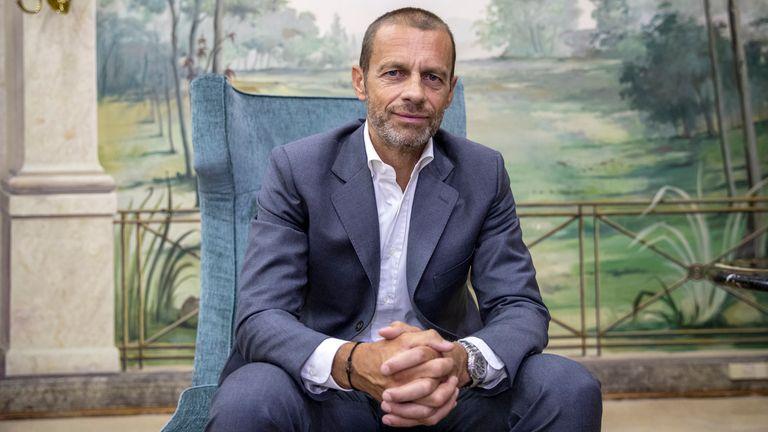 UEFA President Aleksander Ceferin. File pic: AP