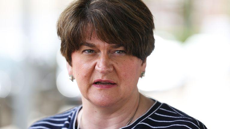 Northern Irish First Minister Arlene Foster