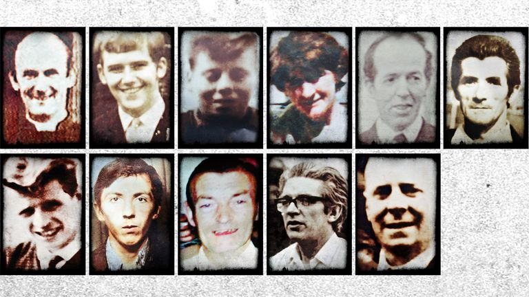 Victims of the Ballymurphy shooting