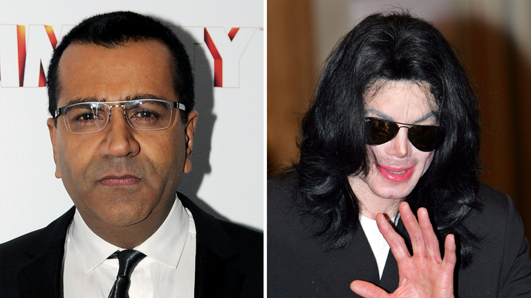 Bashir landed a now-controversial interview with Michael Jackson. Pics: AP