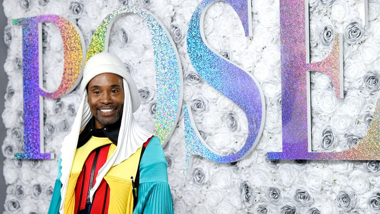 """Actor Billy Porter attends FX's """"Pose"""" third and finale season premiere at Jazz at Lincoln Center on Thursday, April 29, 2021, in New York. (Photo by Evan Agostini/Invision/AP)"""