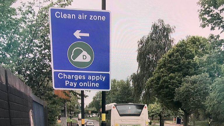 Newer, less polluting cars and electric vehicles will be exempt