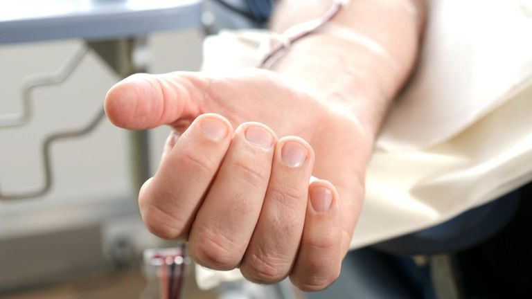 Young men make up just 7% of blood donors in the UK