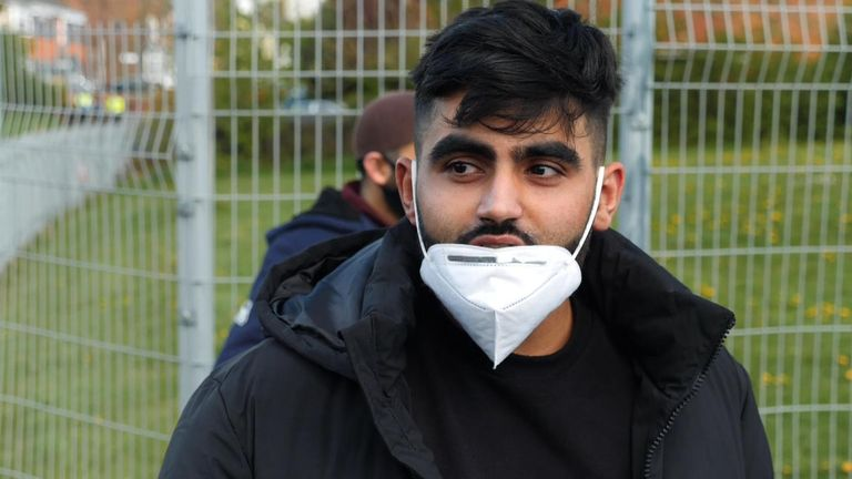 """Mohammed Hussain (pictured) said the """"government should have kept the borders even tighter"""""""