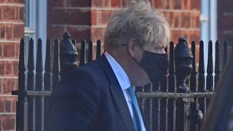 Boris Johnson n'a pas répondu aux questions sur M. Hancock
