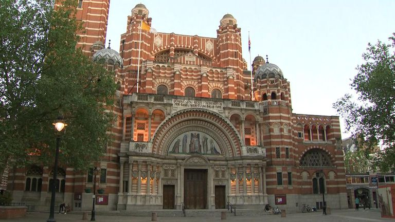 The Prime Minister and Carrie Symonds are said to have wed at Westminster Cathedral
