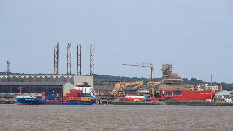 There are calls for the yacht to be built at the Cammell Laird shipyard