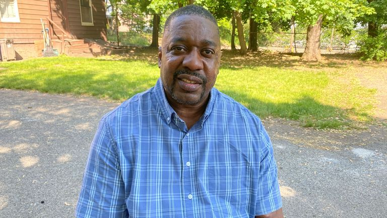 Abdul-Malik Muhammad, the step father of Carl Dorsey who was killed by police
