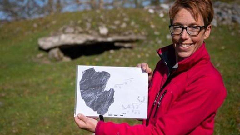Dr Tertia Barnett has hailed the 'incredible discovery'