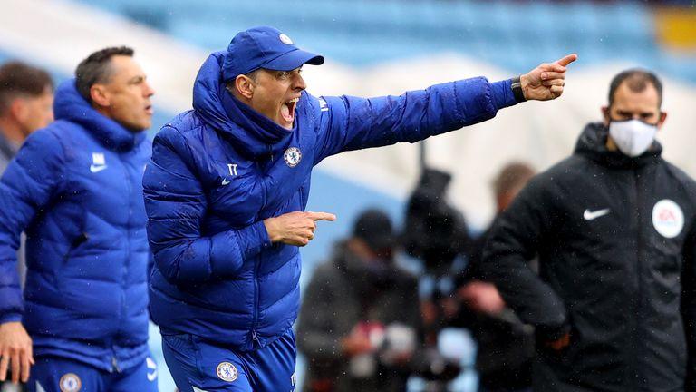Chelsea's head coach Thomas Tuchel