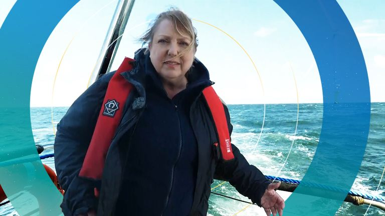 Go behind the scenes as our climate correspondent hits the North Sea.
