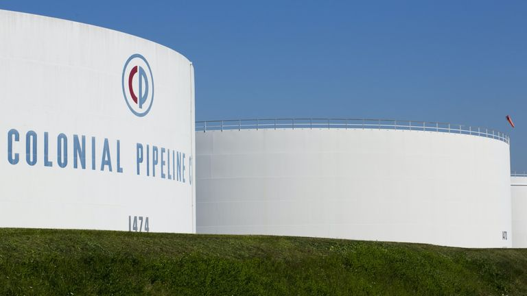 """Colonial Pipeline Company says its priority is the """"safe and efficient restoration of our service"""". Pic: CPC"""