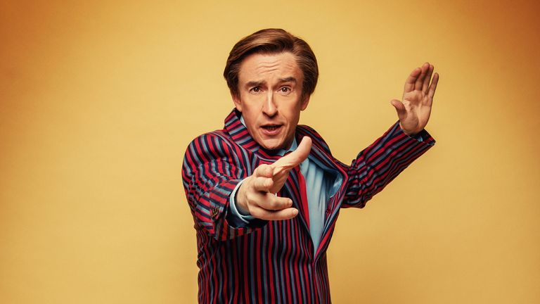 Alan Partridge is swapping the sofa for the stage as he heads out on tour. Pic: Trevor Leighton