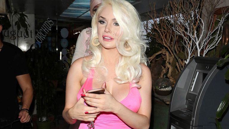 Courtney Stodden in 2019. Pic: AP/Wil R/STAR MAX/IPx