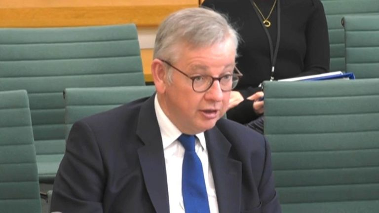 Michael Gove, Minister for the Cabinet Office and Chancellor of the Duchy of Lancaster, giving evidence to the Public Administration and Constitutional Affairs Committee, on COVID passports