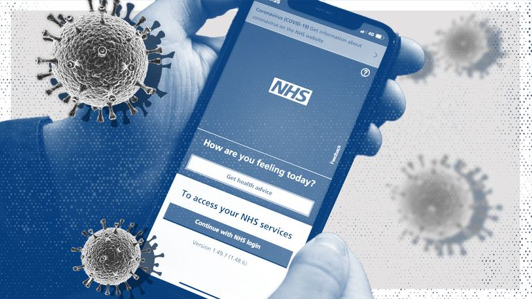 The NHS app will be used by people in England to prove their coronavirus status to other countries