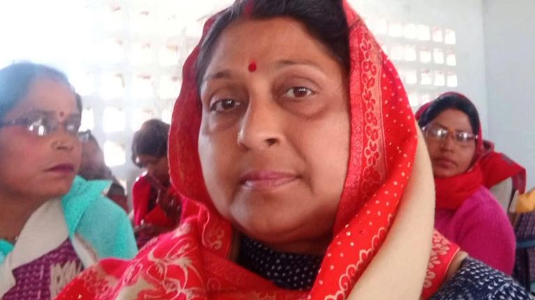 Sarita Singh is among more than seven hundred teachers in the State of Uttar Pradesh who died from coronavirus after being running election polls