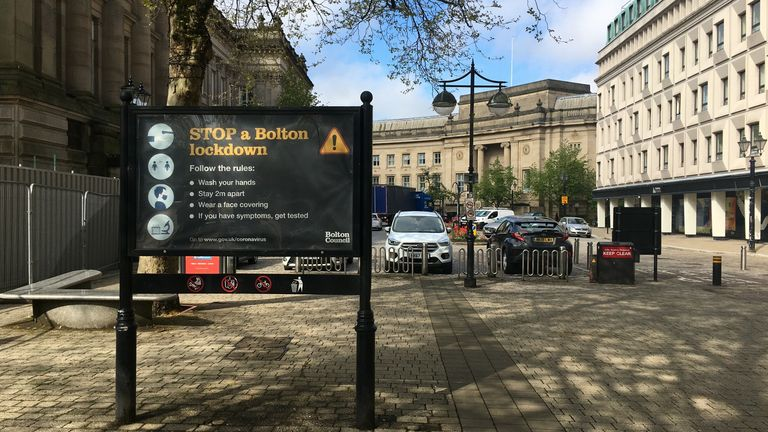 The vaccination rollout is already being ramped up - people can just turn up for a jab at Bolton's mobile vaccine bus.