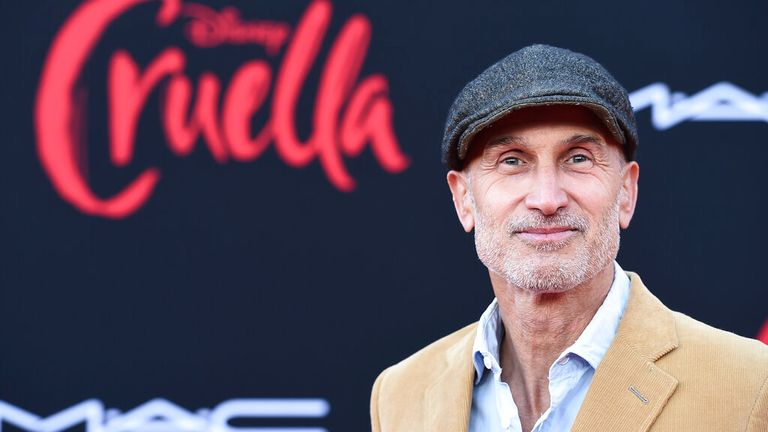"""Director Craig Gillespie arrives at the premiere of """"Cruella"""" at the El Capitan Theatre on Tuesday, May 18, 2021, in Los Angeles. (Photo by Jordan Strauss/Invision/AP)"""