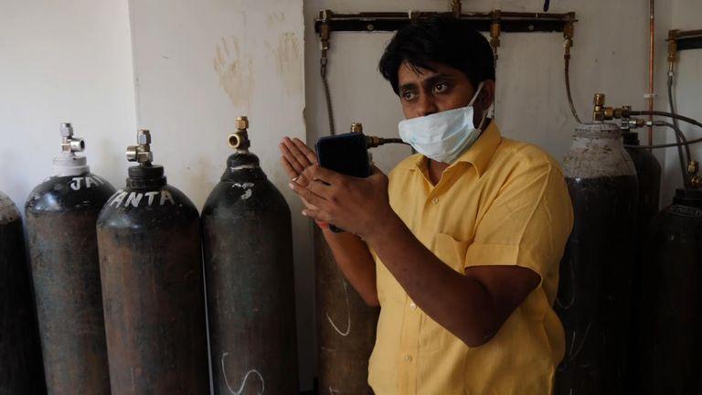 Akilesh Pandey owns and runs the Sun Hospital in Lucknow in Uttar Pradesh