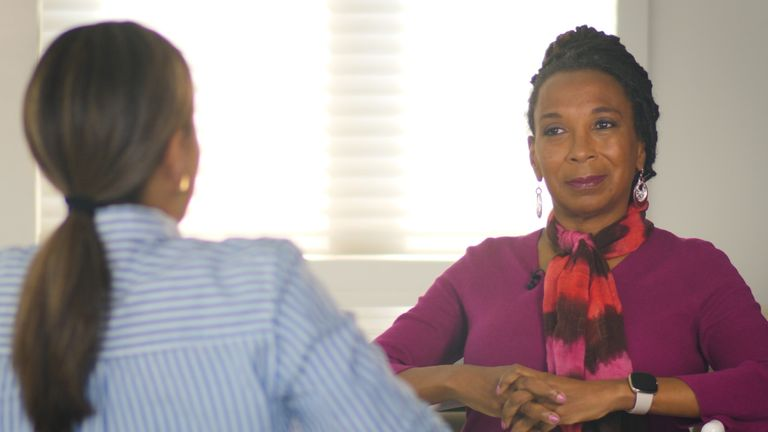 Kimberle Crenshaw is one of the original founders of critical race theory