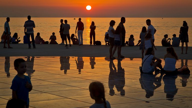 Croatia relies heavily on tourism, revenue which it has lost in the last year due to the pandemic. Pic AP