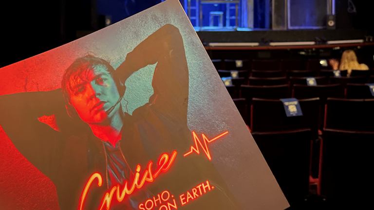 Cruise is a new show playing in London's Duchess Theatre. Pic: Chris Robertson