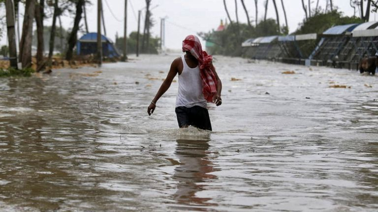 West Bengal has been hit by severe floods as the weather brings devastation to parts of eastern India
