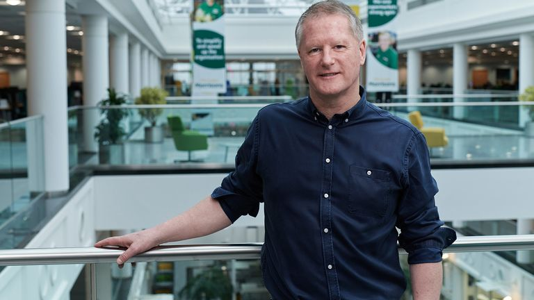 David Potts is the CEO of Morrisons