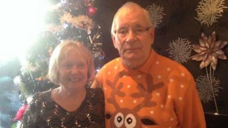 Dennis and Mavis Eccleston. Family photo