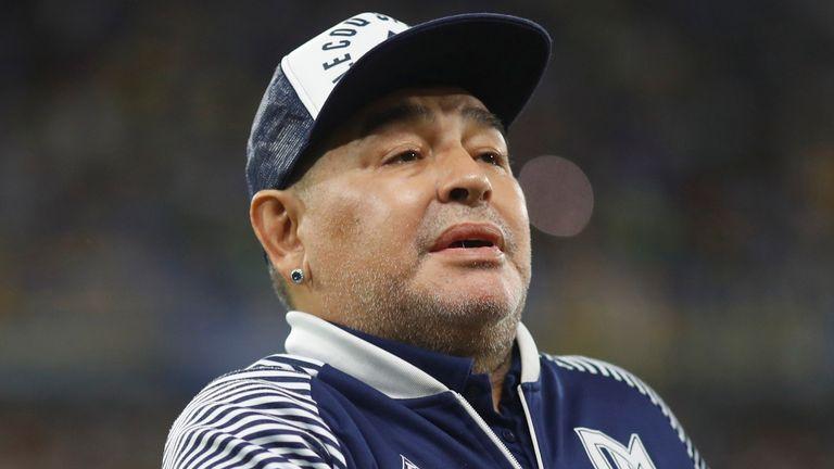 Diego Maradona died in November 2020