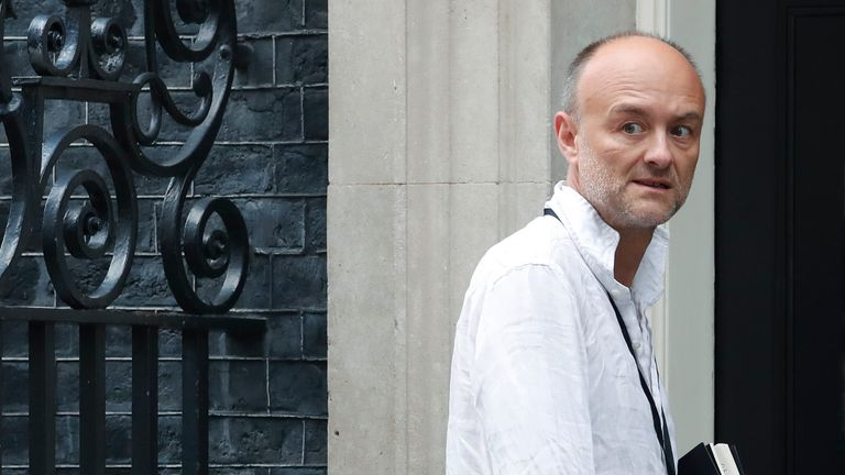 Dominic Cummings has claimed the government originally planned to try and build 'herd immunity'