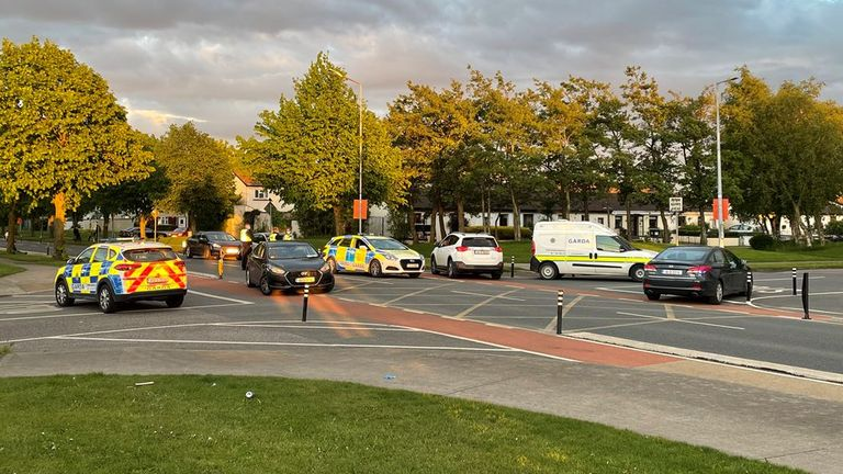 Police were called on Tuesday evening after reports of gunfire