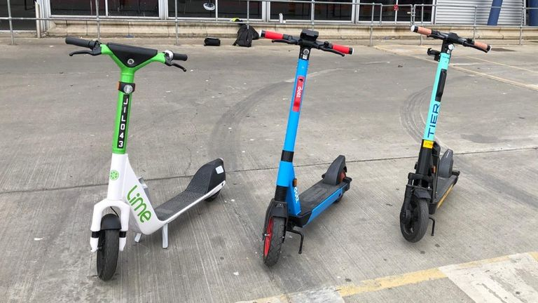 Trials of e-scooters will begin in London from 7 June