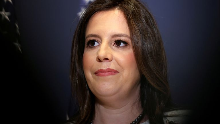 Elise Stefanik has replaced Liz Cheney
