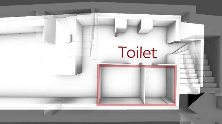 & # 39؛ Voids & # 39؛  در زیر بلوک توالت زیرزمین کشف شدند