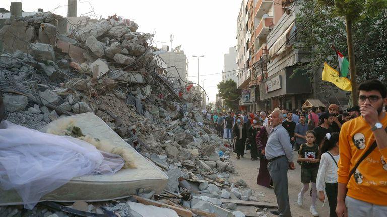 بقایای غزه عکس: AP