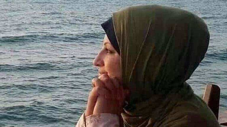 Psychologist Rajaa Abu al-Ouf was killed with her four children when Israeli jets destroyed her home