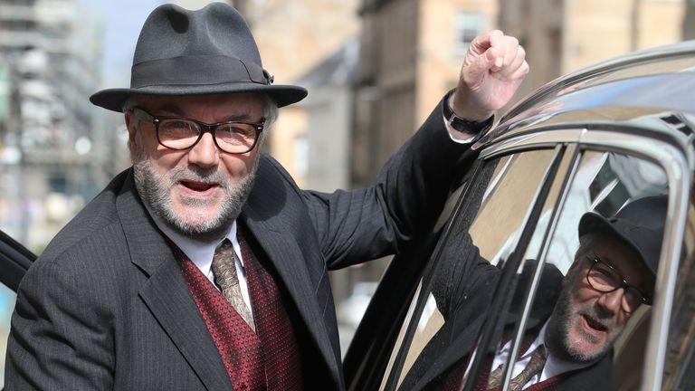L'ancien député travailliste George Galloway dit que son Parti des travailleurs GB se lèvera