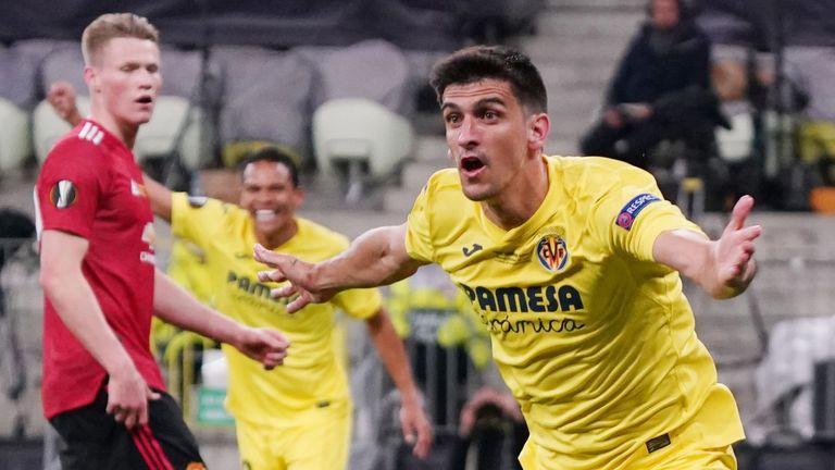 Gerard Moreno de Villarreal célèbre son premier but