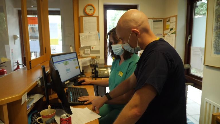 Patient numbers have doubled since before the pandemic